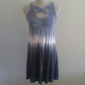 Jersey T-Shirt Dress Tie Dye